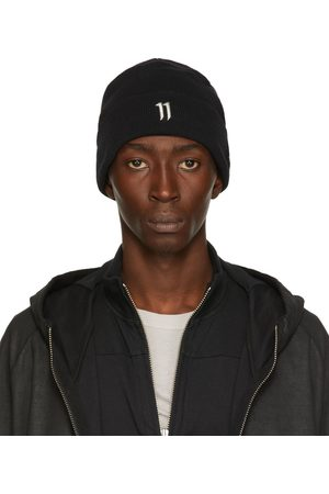 11 BY BORIS BIDJAN SABERI Black New Era Edition Logo Beanie