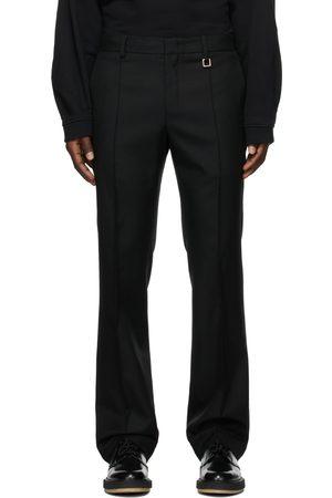 WOOYOUNGMI Men Skinny Pants - Twill Semi-Slim Trousers
