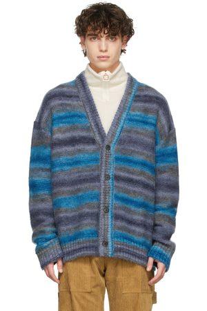 WOOYOUNGMI SSENSE Exclusive Blue Stripe Sweater