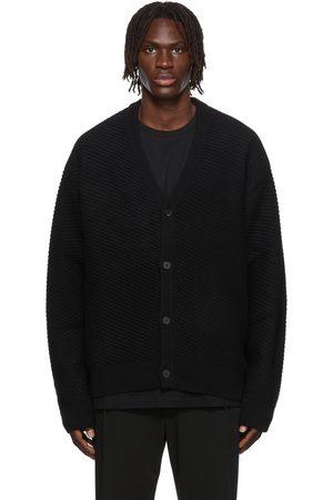 WOOYOUNGMI SSENSE Exclusive Diagonal Weave Cardigan