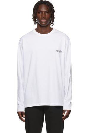 WOOYOUNGMI Logo Patch Long Sleeve T-Shirt