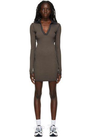 Cotton Citizen Grey The Ibiza Polo Dress