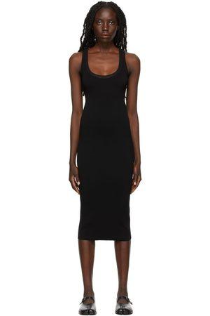 Cotton Citizen Black The Verona Midi Dress