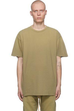 FEAR OF GOD Men T-shirts - Green 'FG7C' T-Shirt