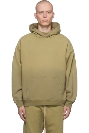 FEAR OF GOD Green Faded Hoodie