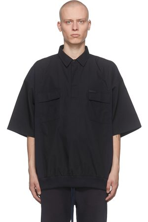 FEAR OF GOD Navy Weekend Polo