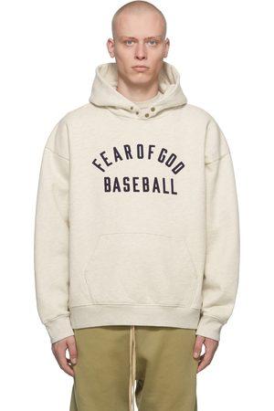 FEAR OF GOD Beige 'Baseball' Hoodie