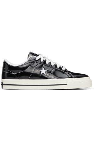 Converse Men Sneakers - Black Patent One Star OX Sneakers