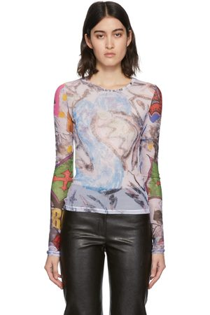 OUR LEGACY Multicolor Slim Jersey Long Sleeve T-Shirt