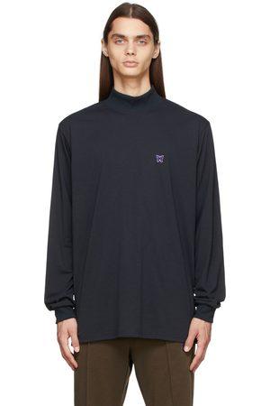 Pins & Needles Men Long Sleeve - Mock Neck Long Sleeve T-Shirt