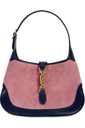 Gucci Small Hobo Jackie 1961 Corduroy Bag