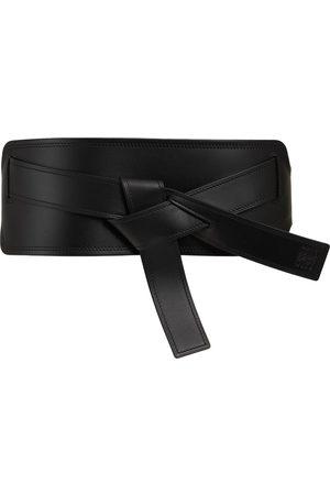 Loewe Leather Gate Belt