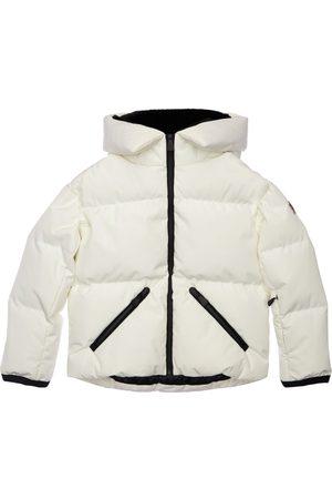 Moncler Tech Hooded Nylon Ski Jacket