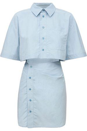 Jacquemus La Robe Arles Linen & Viscose Mini Dress