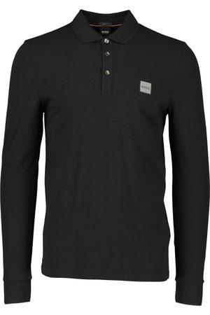 HUGO BOSS Men Polo Shirts - Mens BOSS Passerby 1 Long Sleeve Polo Shirt