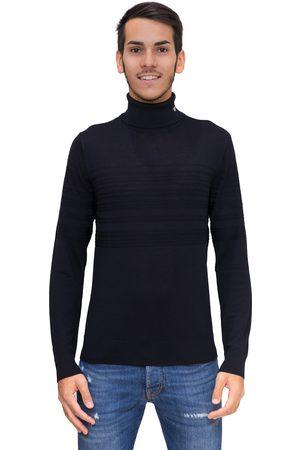 Emporio Armani Dolcevita in pura lana vergine con dettagli links