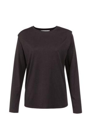 YAYA Women Long sleeves - Long Sleeve Top with Shoulder Pleat in 1909389 XS