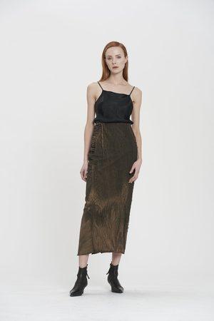 MASNADA Women Pencil Skirts - Long Pencil Skirt