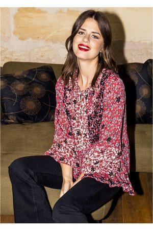 miss june Women Blouses - Megan Printed Blouse - Western