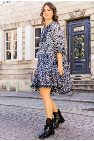 miss june Women Printed Dresses - May Printed Dress - Texan