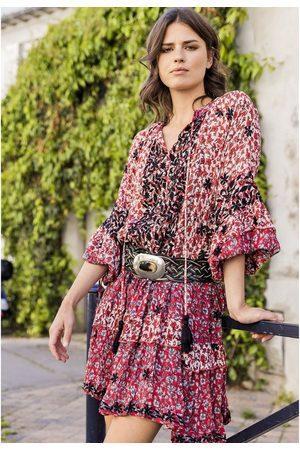 miss june Rachel Printed Dress - Western