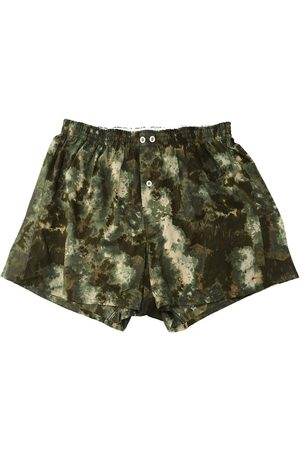 ANONYMOUS ISM Anonymous Ism Psychedelic Print Boxers Khaki