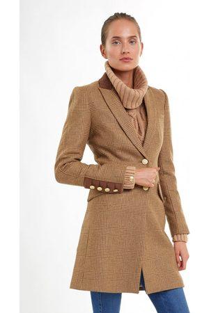 Holland Cooper Kempton Coat 10, Colour: Tawny