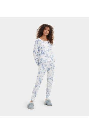 UGG Birgit Print PJ Set Colour: Whirlpool Tie Dye