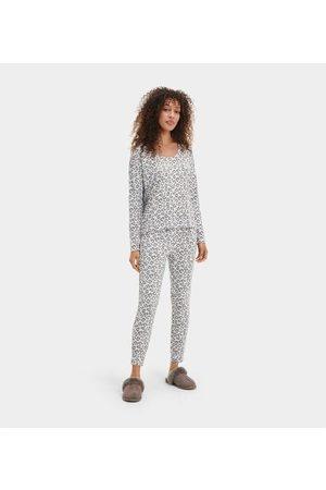 UGG Birgit Print PJ Set Colour: Grey Leopard