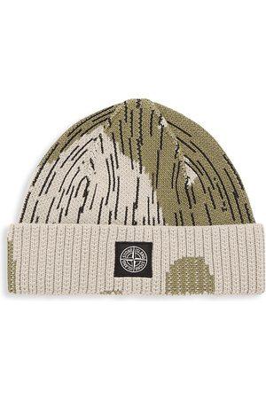 Stone Island Cotton-Blend Cap Hat