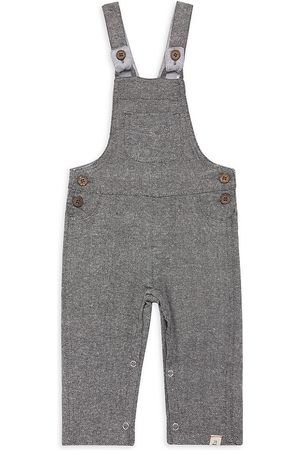 Me & Henry Baby's & Little Boy's Jellico Woven Overalls