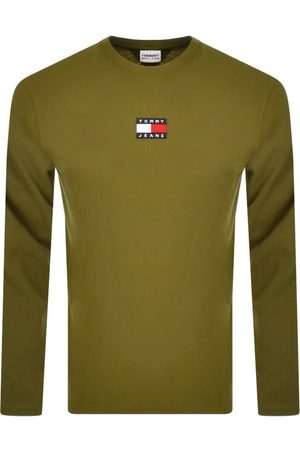 Tommy Hilfiger Slub Stripe T Shirt Khaki