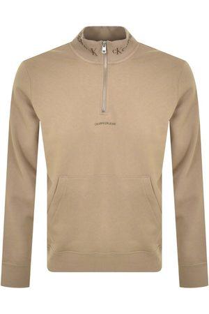 Calvin Klein Men Jeans - Jeans Half Zip Sweatshirt