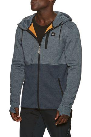 Rip Curl Men Fleece Jackets - Anti Series Departed Zt s Fleece - Navy