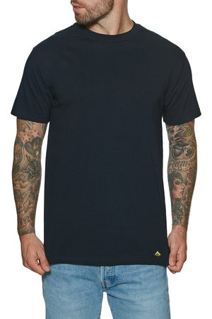 Emerica Men Short Sleeve - Mini Triangle s Short Sleeve T-Shirt - Navy