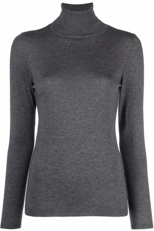 SNOBBY SHEEP Cashmere Blend Turtle-neck Sweater- Woman