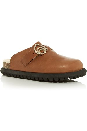 BROTHER VELLIES Women's Josh Shearling Clogs