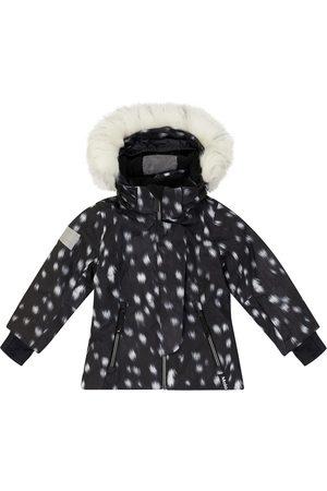 Molo Hooded softshell ski jacket