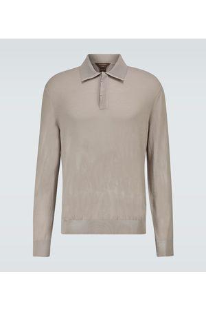 Ermenegildo Zegna Wool long-sleeved polo shirt