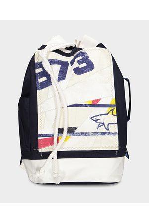 Paul & Shark Men Rucksacks - Cotton Sailing Bag With Print