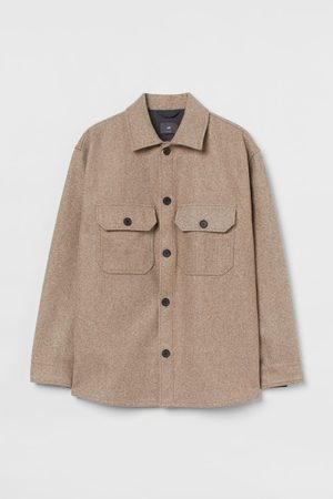 H&M Relaxed Fit Shirt Jacket