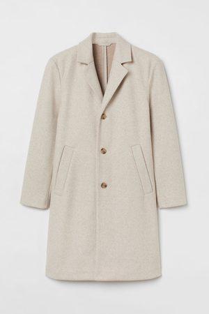 H&M Men Coats - Wool-blend Coat