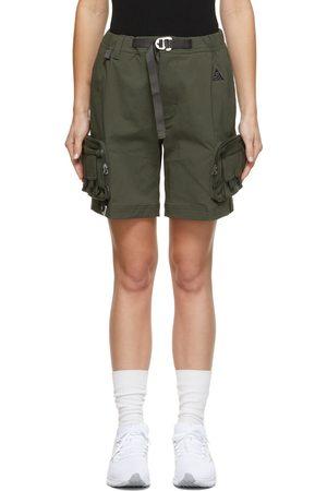Nike Women Shorts - Green ACG Cargo Shorts