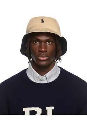 Polo Ralph Lauren Beige Chino Loft Logo Bucket Hat