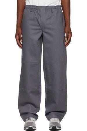 GR10K Grey Lever Trousers