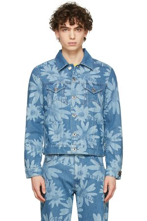 Marc Jacobs Heaven Blue Heaven by Marc Jacobs Denim Laser Floral Jacket