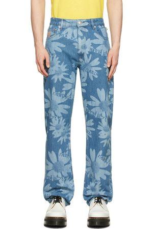 Marc Jacobs Heaven Men Jeans - Blue Heaven by Marc Jacobs Laser Floral Jeans