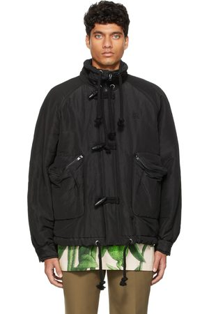 Kenzo Black Runway Parka Jacket
