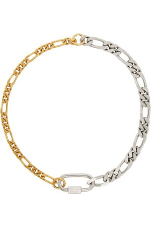 In Gold We Trust Gold & Curb Chain Necklace