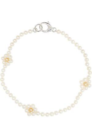 Hatton Labs SSENSE Exclusive White Daisy Chain Necklace